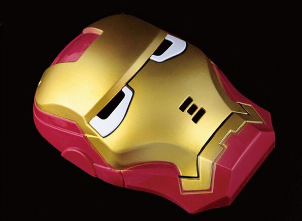 Máscaras de LED homem de ferro 2