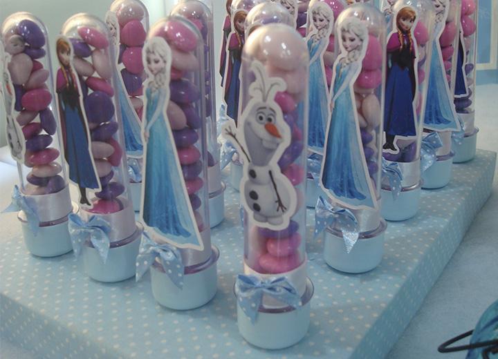lembrancinhas4 Festa Frozen